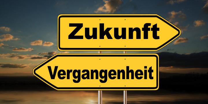 Vergangenheit - Zukunft (Bildquelle: Gerd Altmann / pixelio.de)