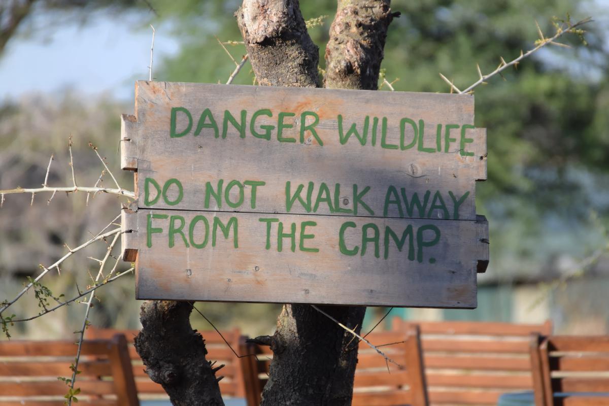 Achtung: Wild!
